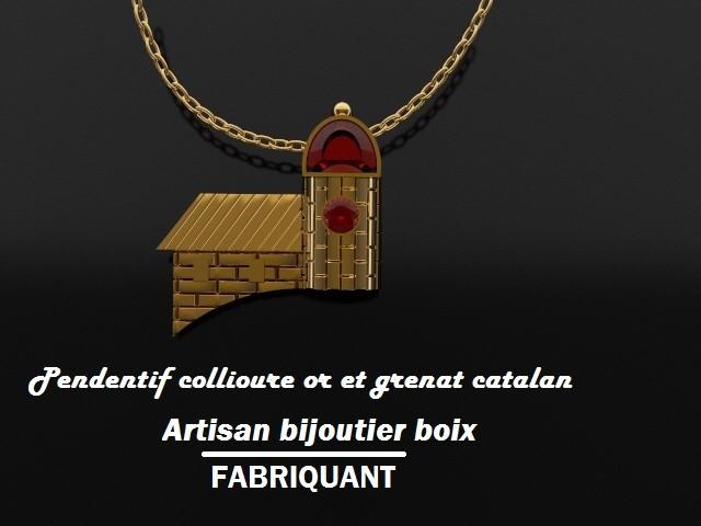 grenat catalan collioure or